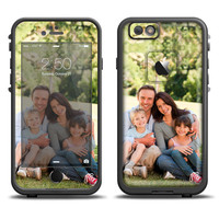 The Custom Add Your Own Image Apple iPhone 6 LifeProof Fre Case Skin Set (Other Models Available!)