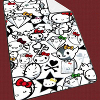 """Hello Kitty Kids Blanket Game Blanket All Character Popular Game, Cute and Awesome Blanket for your bedding, Blanket fleece """"NP"""""""