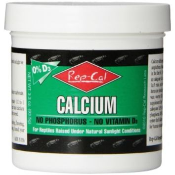 Rep Cal Rep Cal Ultrafine Calcium Without Vitamin D3 Reptile Food Supplements
