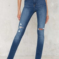 Rolla's Eastcoast High-Waisted Skinny Jeans