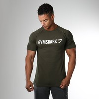 Gymshark Apollo T-Shirt - Alpine Green