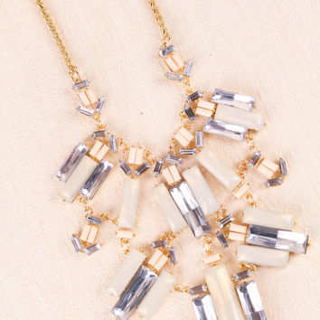 On The Rocks Crystal Necklace