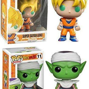 Funko Pop Dragonball Z: Super Saiyan Goku + Piccolo 3807.3993 Set of 2