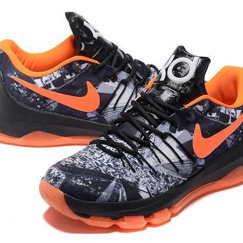 2017 Nike Zoom Kd 8 Kevin Durant Start Night Men's Basketball Shoes - Beauty Ticks