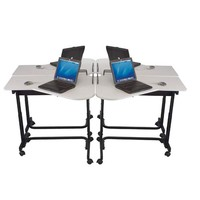 Balt, Inc. 82783 Write Angle Desk Cluster, Set of Four