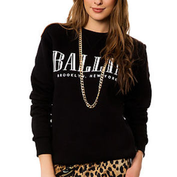 The Ballin Sweater in Black