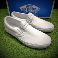 Best Online Sale Fashion Vans X Balenciaga Slip-On OG XH92 White Casual Shoes VN00097M9BB