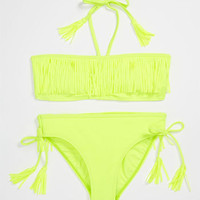 Billabong 'Jenny' Fringe Two Piece Swimsuit (Big Girls) | Nordstrom