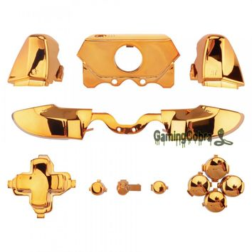 Customized Buttons Trigger for 3.5 mm Jack Elite Xbox One Controller Chrome Gold