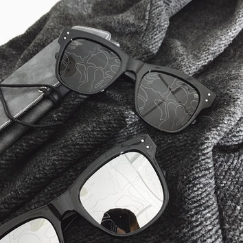 Mirror Couple Sunglasses [10507737479]