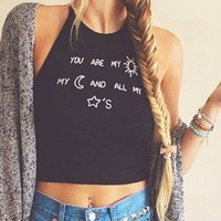 My Everything Crop Top