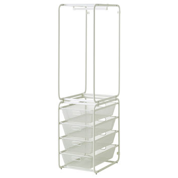 ALGOT Frame with rod and mesh baskets - IKEA