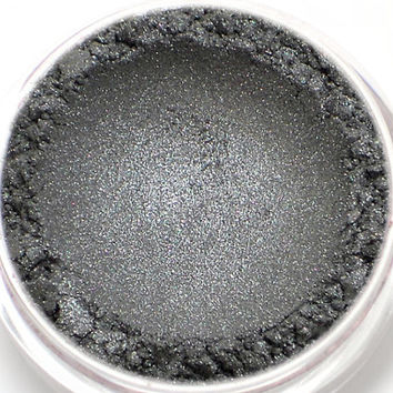 "Dark Silver Eyeshadow - ""Sylph"" - Vegan Mineral Eyeshadow Net Wt 2g Mineral Makeup Eye Color Pigment"