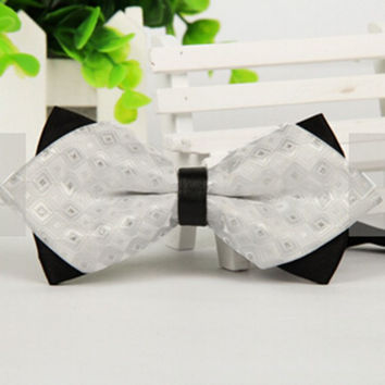 Hot Classic Bow Tie Fashion Men Women Adjustable Tuxedo Bowtie Wedding Party Ties Necktie NW