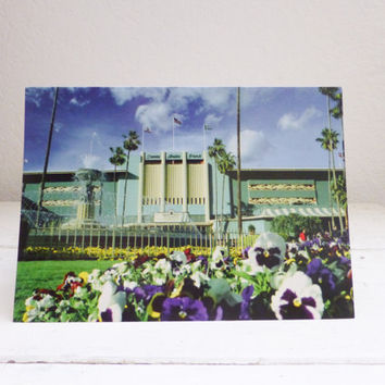 Blank greeting card,  santa anita race track, race track,  horse racing, seabiscuit, travel souvenir, full color photo, greeting card