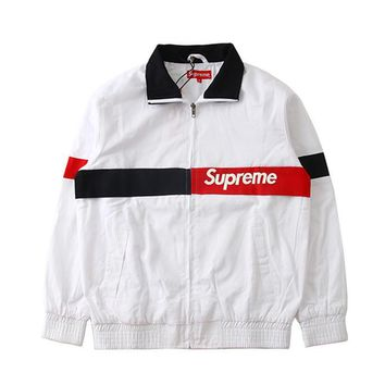 Supreme Cotton Patchwork Jacket