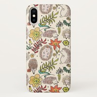Hedgehog Field Phone Cases