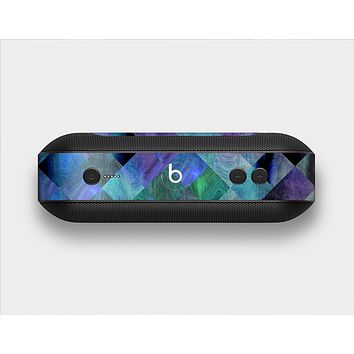 The Multicolored Tile-Swirled Pattern Skin Set for the Beats Pill Plus