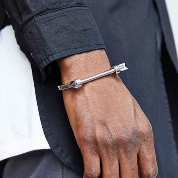Mister Arrow Cuff Bracelet- Silver One