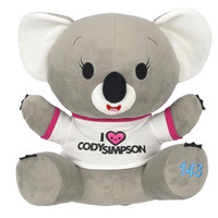 Cody Simpson 15 inch Plush Koala - Gray
