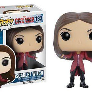 Funko POP Marvel: Captain America 3: Scarlet Witch 7231