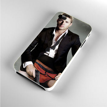 Jensen Ackles Dean Winchester PhotoShot iPhone 4s Case