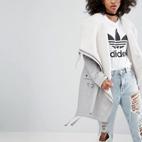 ASOS Waterfall Parka with Fleece Lining at asos.com