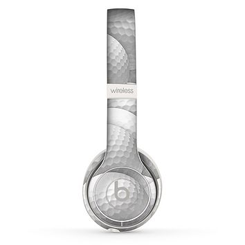 The Golf Ball Overlay Skin Set for the Beats by Dre Solo 2 Wireless Headphones