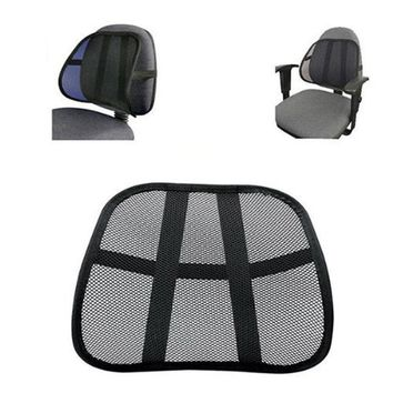 Cls Cool & Breathable Mesh Support - Lumbar Support Cushion Seat Back Muscle Car Home Office Chair Pain Relief Travel July 25