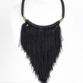 Draw the Lines Necklace