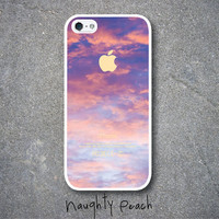 iPhone 5 Case  Cotton Candy Clouds by NaughtyPeach on Etsy