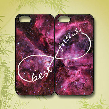 Galaxy Best Friends in pairs - iphone 4 case, iphone 5 case, ipod 5 case, ipod 4 case, ipod touch case, ipod touch 4,  ipod touch 5