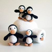Buy Penguin Family pattern - AmigurumiPatterns.net