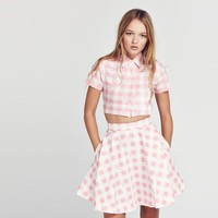 Lazy Oaf Bunny Gingham Shirt - Everything - Categories - Womens