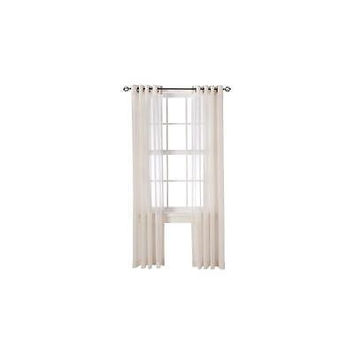 "Threshold Linen Grommet Sheer Curtain Panel (54X84"")"