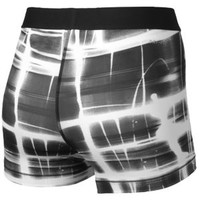 "Nike Pro Printed 3"" Core Compression Short - Women's at Lady Foot Locker"