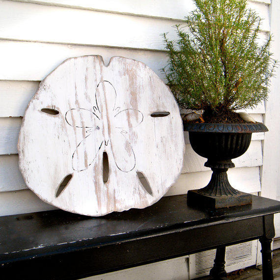 Oversized Sand Dollar Sign Giant Sand From Slippinsouthern On