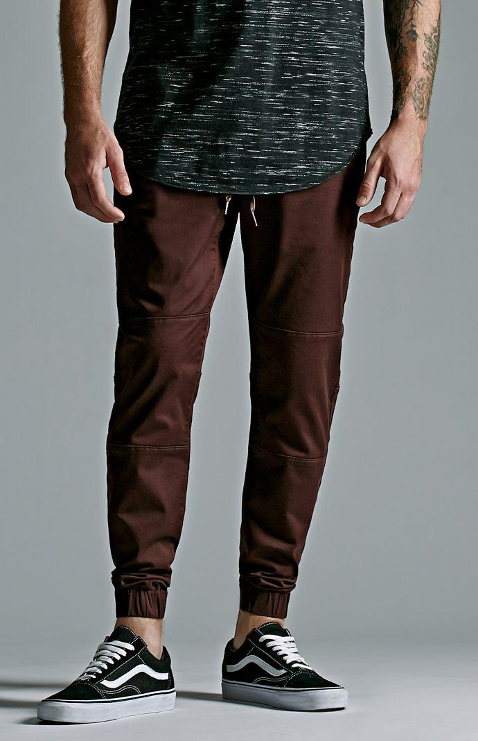 Knee Panel Skinny Jogger Pants Mens From Pacsun