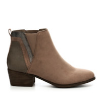 Madden Girl Hooper Women's Ankle Boot (TAUPE)