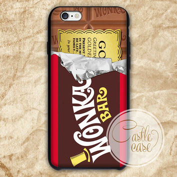 wonka bar iPhone 4/4S, 5/5S, 5C Series Hard Plastic Case