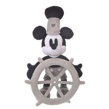 Disney Store Japan 90th 1928 Mickey Steamboat Willie Large Plush New with Tags