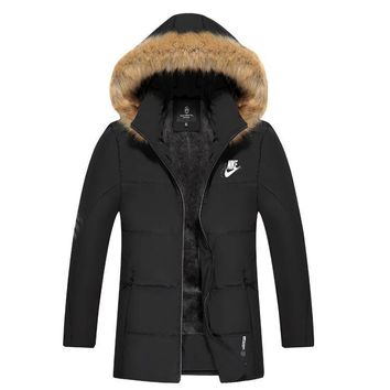 Nike Women Men Cardigan Jacket Coat-4