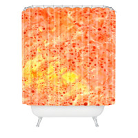 Rosie Brown Florida Orange Shower Curtain