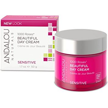 Andalou Naturals 1000 Roses Rosewater Mask Sensitive, 1.7 fl oz