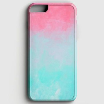 Ombre Pink And Blue iPhone 6 Plus/6S Plus Case