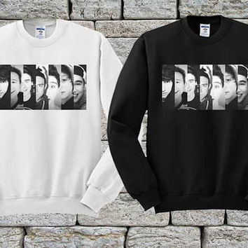 O2L Our Second Lifes Black White sweater Sweatshirt Crewneck Men or Women Unisex