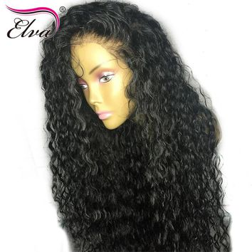 Pre Plucked Water Wave Full Lace Human Hair Wigs With Baby Hair Natural Hairline NYUWA Hair Brazilian Remy Hair Lace Wigs