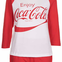 COKE PJ TEE AND SHORTS