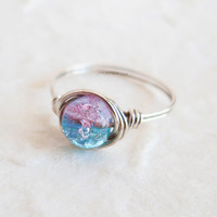Cotton Candy Ring