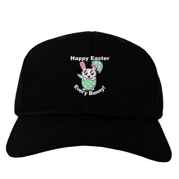Happy Easter Every Bunny Adult Dark Baseball Cap Hat by TooLoud